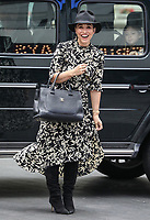 Celebrities Seen Departing The Global Radio Studios In London on Thursday September 3rd 2020<br /> <br /> Photo by BDC/People Press