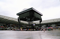 Pictured: The stage before the concert. Wednesday 14 June 2017<br /> Re: Take That concert at the Liberty Stadium, Swansea, Wales, UK