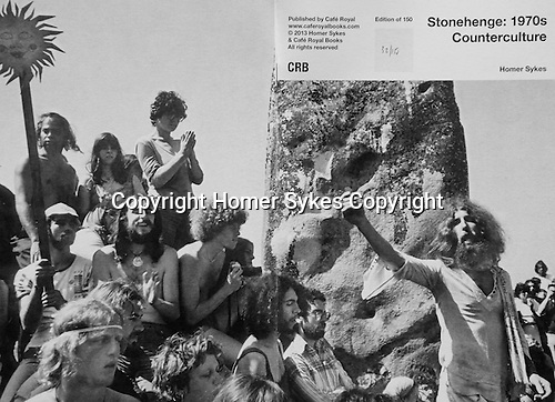 Stonehenge:1970 Counterculture.<br /> PhotoZine published by Cafe Royal Books. 28 pages, staple bound, A5.