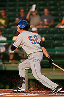 Reese Havens #52 of the St. Lucie Mets during a game against the Daytona Cubs at Jackie Robinson Ballpark on May 23, 2011 in Daytona Beach, Florida. (Scott Jontes / Four Seam Images)