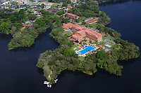 aerial photograph of Melia Vacation Club, Antigua Escula Las Americas, Lago Gatun  Panama