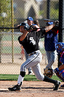 Jordan Herr -  Chicago White Sox - 2009 spring training.Photo by:  Bill Mitchell/Four Seam Images