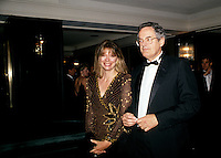 Francis Fox and wife, May 1992<br /> file photo
