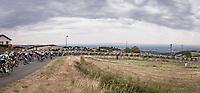 peloton panorama<br /> <br /> Stage 1: Clermont-Ferrand to Saint-Christo-en-Jarez (218km)<br /> 72st Critérium du Dauphiné 2020 (2.UWT)<br /> <br /> ©kramon
