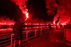 140521 Rangers fans river clyde