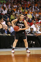 6 April 2008: Stanford Cardinal Jeanette Pohlen during Stanford's 82-73 win against the Connecticut Huskies in the 2008 NCAA Division I Women's Basketball Final Four semifinal game at the St. Pete Times Forum Arena in Tampa Bay, FL.