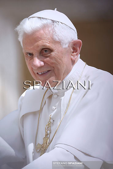 Pope Benedict XVI during his weekly general audience in St. Peter square at the Vatican, Wednesday.June 1, 2011