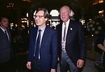 VITTORIO SGARBI E VITTORIO EMANUELE DI SAVOIA<br /> MATRIMONIO CAMILLA CROCIANI E CARLO  BORBONE MONTECARLO 1998