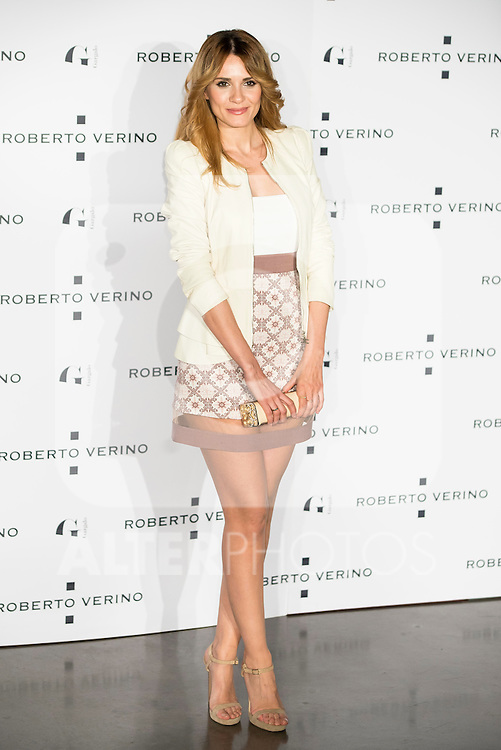 """Kimberley Tell during the presentation of the new Spring-Summer collection """"Un Balcon al Mar"""" of Roberto Verino at Platea in Madrid. March 16, 2016. (ALTERPHOTOS/Borja B.Hojas)"""