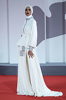 Rawdah Mohamed attending The Last Duel Premiere as part of the 78th Venice International Film Festival in Venice, Italy on September 10, 2021. <br /> CAP/MPIIS<br /> ©MPIIS/Capital Pictures