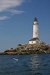 Boston Light, MA, New England, U.S.