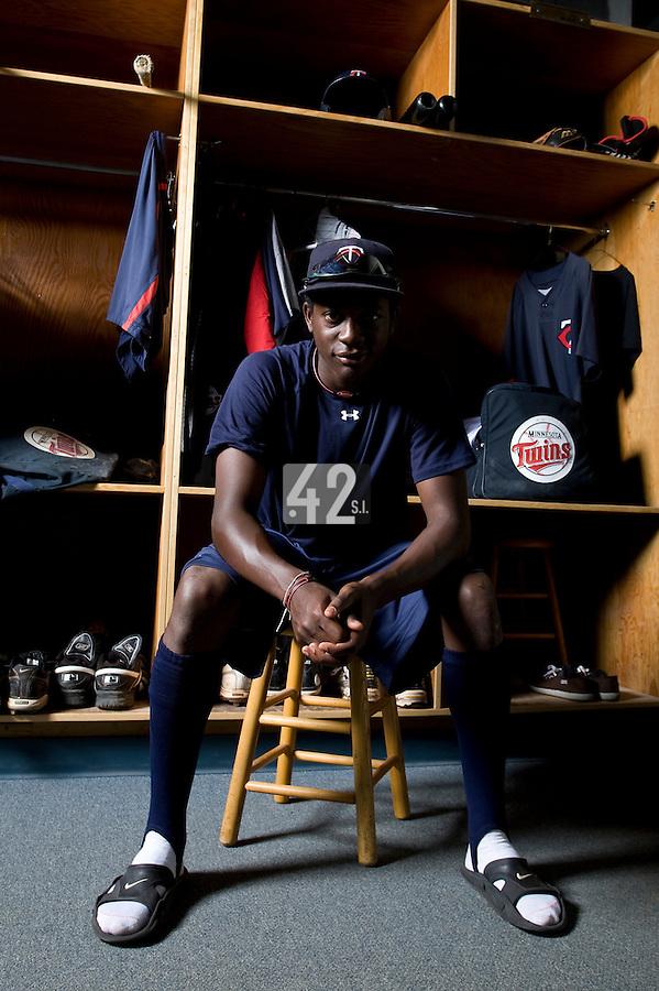BASEBALL - MLB - LEE COUNTY COMPLEX (USA) - 07/08/2008 - PHOTO: CHRISTOPHE ELISE.FREDERIC HANVI (MINNESOTA TWINS)