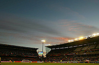 General View of the Free State stadium, Bloemfontein as Japan play against Cameroon.