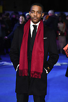 "Khali Best<br /> arriving for the ""Blue Story"" premiere at the Curzon Mayfair, London.<br /> <br /> ©Ash Knotek  D3534 14/11/2019"