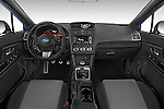 Stock photo of straight dashboard view of a 2015 Subaru Wrx - 4 Door Sedan 2WD Dashboard