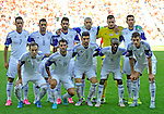 EURO 2016 QUALIFYING: WALES V ISRAEL AT CARDIFF CITY STADIUM : <br /> Israel team photo ahead of kick off.<br /> <br /> EDITORIAL USE ONLY.