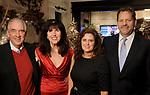 Jack and Martha Plunkett and Jennifer and John Warren at the M.D. Anderson Santa's Elves party Thursday Dec. 07,2017. (Dave Rossman Photo)