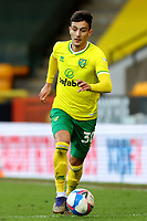 20th February 2021; Carrow Road, Norwich, Norfolk, England, English Football League Championship Football, Norwich versus Rotherham United; Dimitris Giannoulis of Norwich City