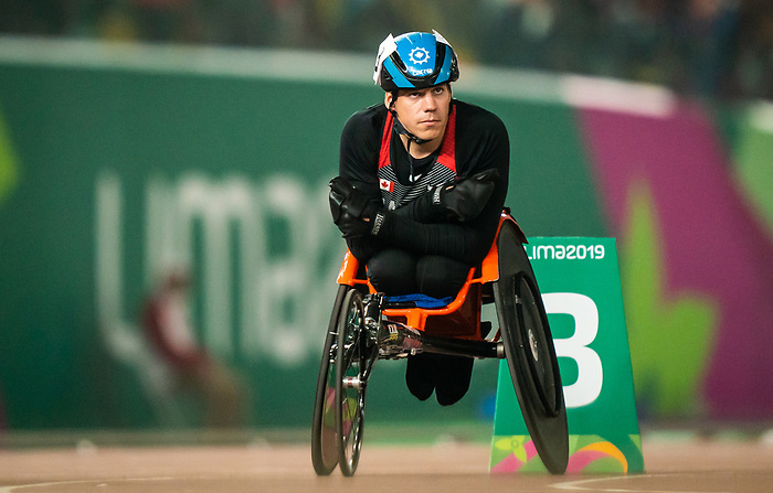 Benjamin Brown, Lima 2019 - Para Athletics // Para-athlétisme.<br /> Ben Brown competes in the men's 800m T53 // Ben Brown participe au 800 m T53 masculin. 25/08/2019.