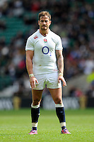 Danny Cipriani of England during the match between England and Barbarians at Twickenham Stadium on Sunday 31st May 2015 (Photo by Rob Munro)
