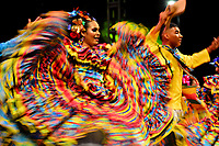 BARRANQUILLA-COLOMBIA, 19-01-2020: Fiesta de Comparsas en el marco del Carnaval de Barranquilla.  / Comparsas Party in the framework of the Barranquilla Carnival. / Photo: VizzorImage / Alfonso Cervantes / Cont.