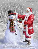 Marcello, CHRISTMAS SANTA, SNOWMAN, WEIHNACHTSMÄNNER, SCHNEEMÄNNER, PAPÁ NOEL, MUÑECOS DE NIEVE, paintings+++++,ITMCXM2224,#x#