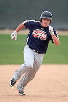 January 17, 2010:  Kelby Chowning (Whitehouse, TN) of the Baseball Factory Southeast Team during the 2010 Under Armour Pre-Season All-America Tournament at Kino Sports Complex in Tucson, AZ.  Photo By Mike Janes/Four Seam Images