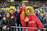 British and Irish Lions Fans during the New Zealand Lions Series - Hurricanes v British and Irish Lions at Westpac Stadium, Wellington, New Zealand on Tuesday 27 June 2017.<br /> Photo by Masanori Udagawa<br /> www.photowellington.photoshelter.com.