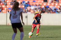 Houston, TX - Sunday Oct. 09, 2016: Shelina Zardorsky during the National Women's Soccer League (NWSL) Championship match between the Washington Spirit and the Western New York Flash at BBVA Compass Stadium. The Western New York Flash win 3-2 on penalty kicks after playing to a 2-2 tie.