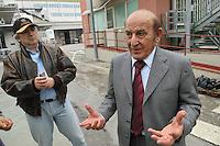 "- chickens breeding of "" Amadori "" group in Cesena, the president, mister Francesco Amadori....- allevamento di polli del gruppo ""Amadori"" a Cesena, il presidente Francesco Amadori"