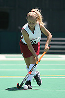 9 August 2007: Julia Druce during picture day at the field hockey field in Stanford, CA.
