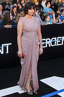 """WESTWOOD, LOS ANGELES, CA, USA - MARCH 18: Amy Newbold at the World Premiere Of Summit Entertainment's """"Divergent"""" held at the Regency Bruin Theatre on March 18, 2014 in Westwood, Los Angeles, California, United States. (Photo by Xavier Collin/Celebrity Monitor)"""