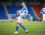 St Johnstone v Stenhousemuir…21.01.17  McDiarmid Park  Scottish Cup<br />Steven MacLean celebrates his goal<br />Picture by Graeme Hart.<br />Copyright Perthshire Picture Agency<br />Tel: 01738 623350  Mobile: 07990 594431