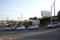 CAMPINAS, SP, 24.05.2018: COMBUSTIVEL-SP - Fila para abastecimento em posto localizado na avenida São José dos Campos no Jd. Nova Europa em Campinas, interior de São Paulo, na tarde desta quinta-feira (24). (Foto: Luciano Claudino/Código19)