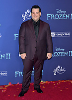 """LOS ANGELES, USA. November 08, 2019: Josh Gad at the world premiere for Disney's """"Frozen 2"""" at the Dolby Theatre.<br /> Picture: Paul Smith/Featureflash"""