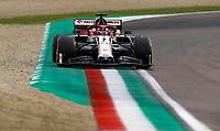 1st November 2020, Imola, Italy; FIA Formula 1 Grand Prix Emilia Romagna, Race Day;  7 Kimi Raikkonen FIN, Alfa Romeo Racing ORLEN