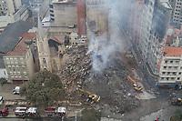 03.05.2018 - Incêndio em edifício no Largo do Paissandu em SP