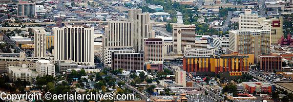 aerial photograph of the skyline Reno, Nevada