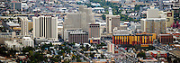 aerial photograph of the skyline Reno, Nevada