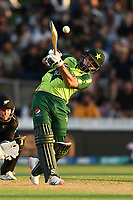 20th December 2020; Hamilton, New Zealand;  Khushdil Shah,  New Zealand Black Caps versus Pakistan, International Twenty20 Cricket. Seddon Park, Hamilton, New Zealand.