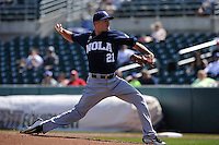 New Orleans Zephyrs Paul Clemens (21) throws during the game against the Iowa Cubs at Principal Park on April 14, 2016 in Des Moines, Iowa.  The Cubs won 4-2 .  (Dennis Hubbard/Four Seam Images)