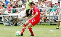 Ali Krieger..Saint Louis Athletica were defeated 1-0 by Washington Freedom at Anheuser-Busch, Soccer Park, Fenton, Missouri.