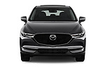 Car photography straight front view of a 2017 Mazda CX-5 Grand Touring 5 Door SUV