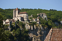 Europe/France/Midi-Pyrénées/46/Lot/Saint-Cirq-Lapopie:  le village  - Les Plus Beaux Villages de France