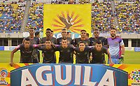 BARRANCABERMEJA  -COLOMBIA, 22-10-2017.Formación de Tigres FC durante el  encuentro contra Alianza Petrolera  por la fecha 16 de la Liga Aguila II 2017 disputado en el estadio Daniel Villa Zapata ./ Team of Tigres FC against  of Alianza Petrolera ,during match for the date 16 of the Aguila League II 2017 played at Daniel Villa Zapata  stadium . Photo:VizzorImage / José David Matínez / Contribuidor