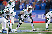 New York Jets guard Brian Winters (67) during an NFL football game against the Buffalo Bills, Sunday, December 9, 2018, in Orchard Park, N.Y.  (Mike Janes Photography)