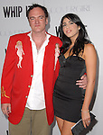 Quentin Tarantino & date at L.A. Premiere of Whip It held at The Grauman's Chinese Theater in Hollywood, California on September 29,2009                                                                   Copyright 2009 DVS / RockinExposures