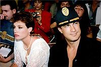 Steven Segal & wife Kelly LeBrock 1992<br /> Photo By John Barrett/PHOTOlink