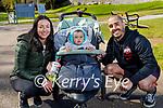 Enjoying a stroll at Ross Castle in Killarney on Saturday morning, l to r: Rui Almeida, Evonne and Ines O'Sullivan.