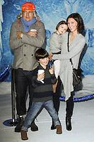 "HOLLYWOOD, CA - NOVEMBER 19: Ken Marino, Erica Oyama, Ruby Marino, Riley Kenichi Marino at the World Premiere Of Walt Disney Animation Studios' ""Frozen"" held at the El Capitan Theatre on November 19, 2013 in Hollywood, California. (Photo by David Acosta/Celebrity Monitor)"